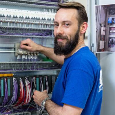 cédric schutz, technicien d'atelier / geral g