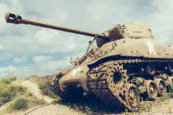 us military sherman tank