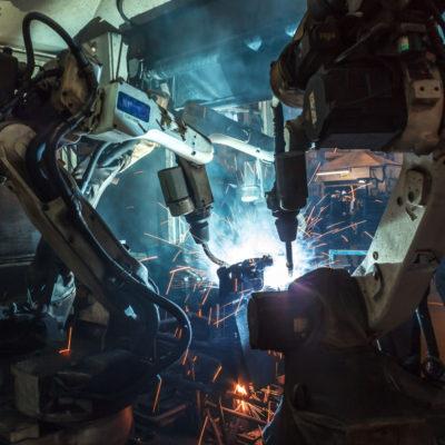robots welding industry